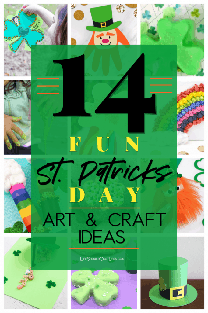 Craft projects for children on St Patricks Day. lifeshouldcostless.com