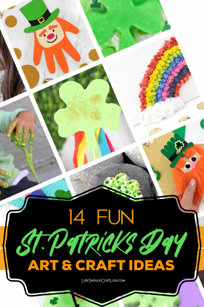 15 Fun St. Patricks Day Art & Craft Ideas for kids. lifeshouldcostless.com