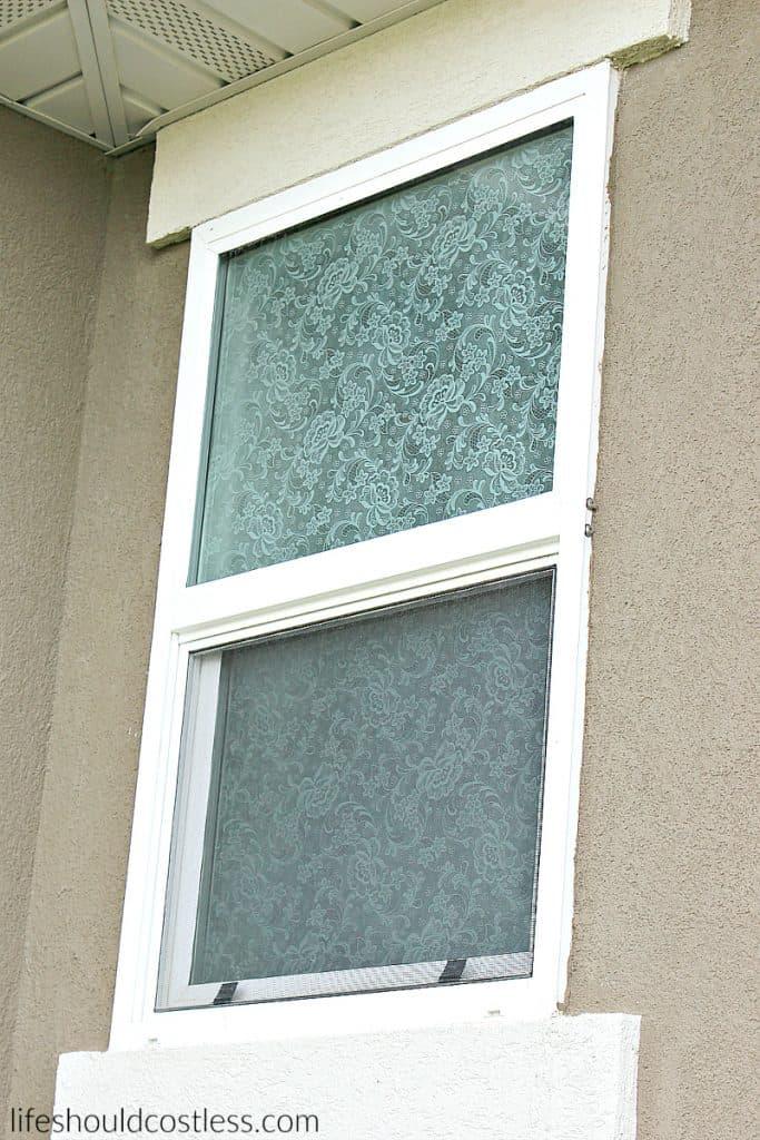 lace on windows