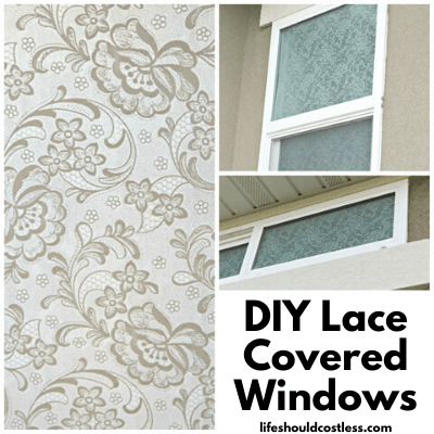lace window covering