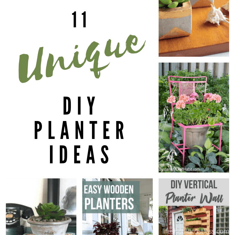 Planter box ideas that are not typical. lifeshouldcostless.com