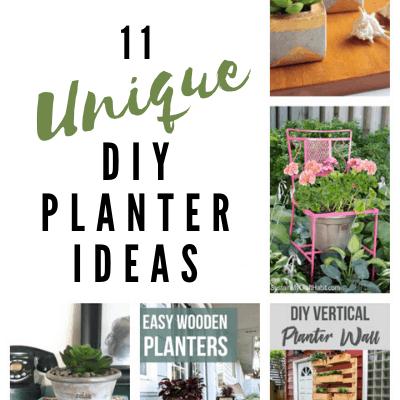 plant pot ideas, DIY planter ideas. lifeshouldcostless.com