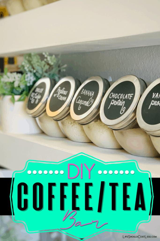 Kitchen Coffee Bar ideas. lifeshouldcostless.com