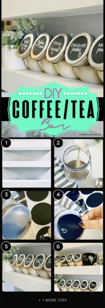 Home coffee bar ideas. lifeshouldcostless.com