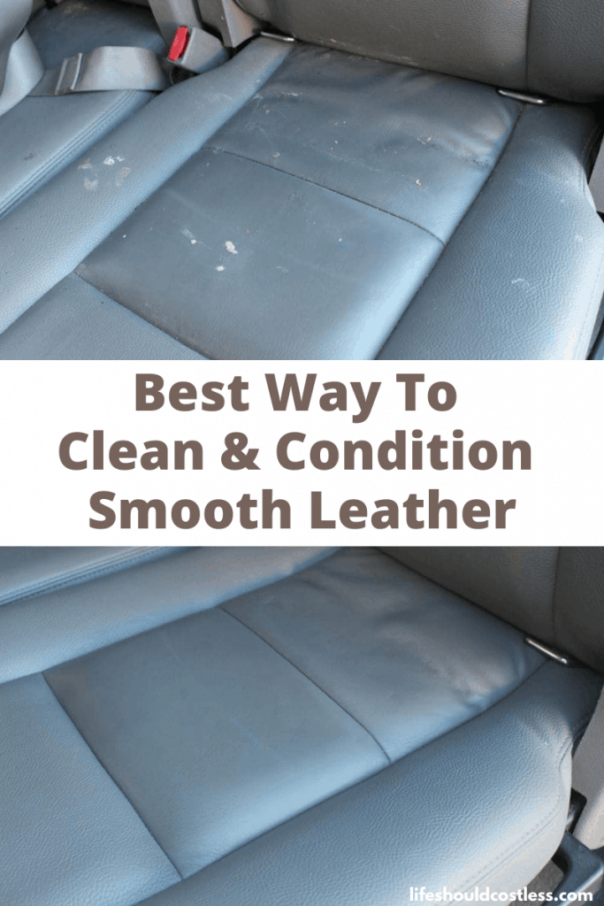 The best way to clean and condition smooth leather. lifeshouldcostless.com