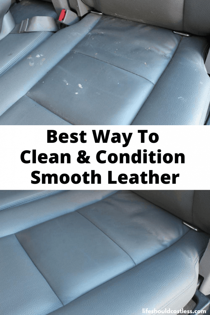 Best way to clean leather car seats, couch, boots, jacket, saddles, and shoes. lifeshouldcostless.com