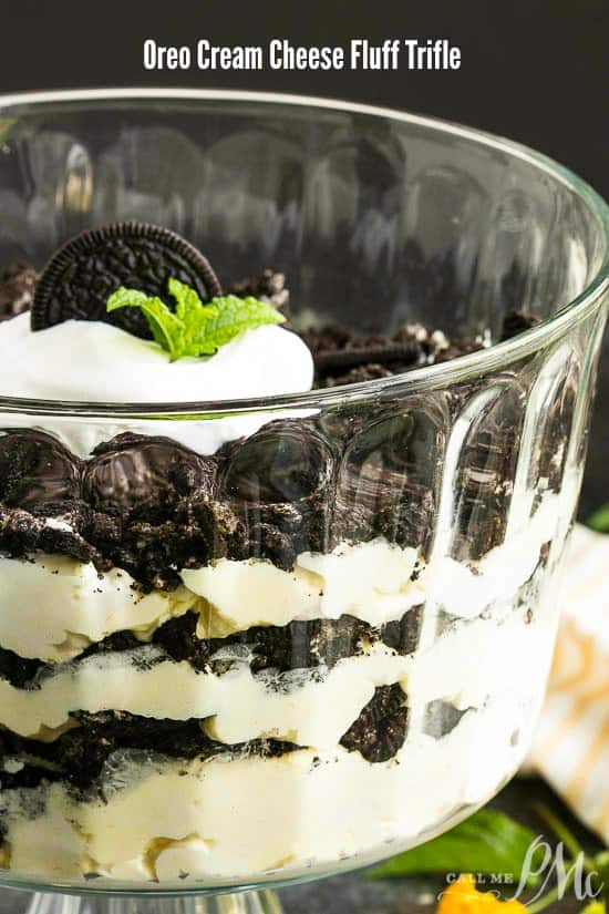 Oreo Cream Cheese Trifle Recipe