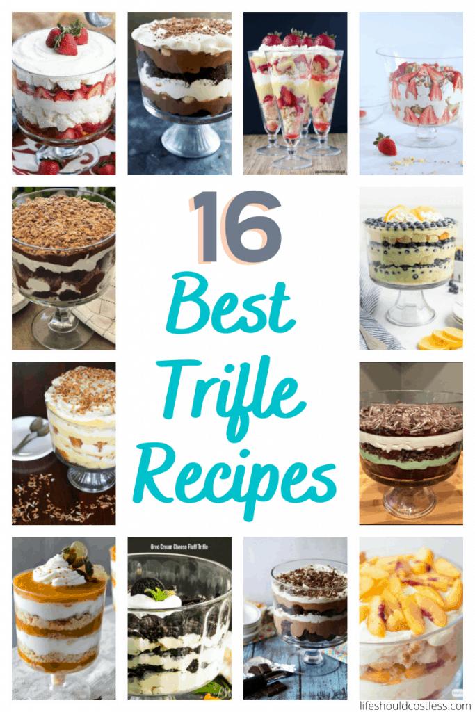 Yummy trifle recipe ideas.