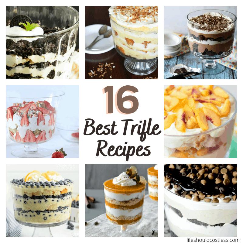 unique trifle recipe ideas
