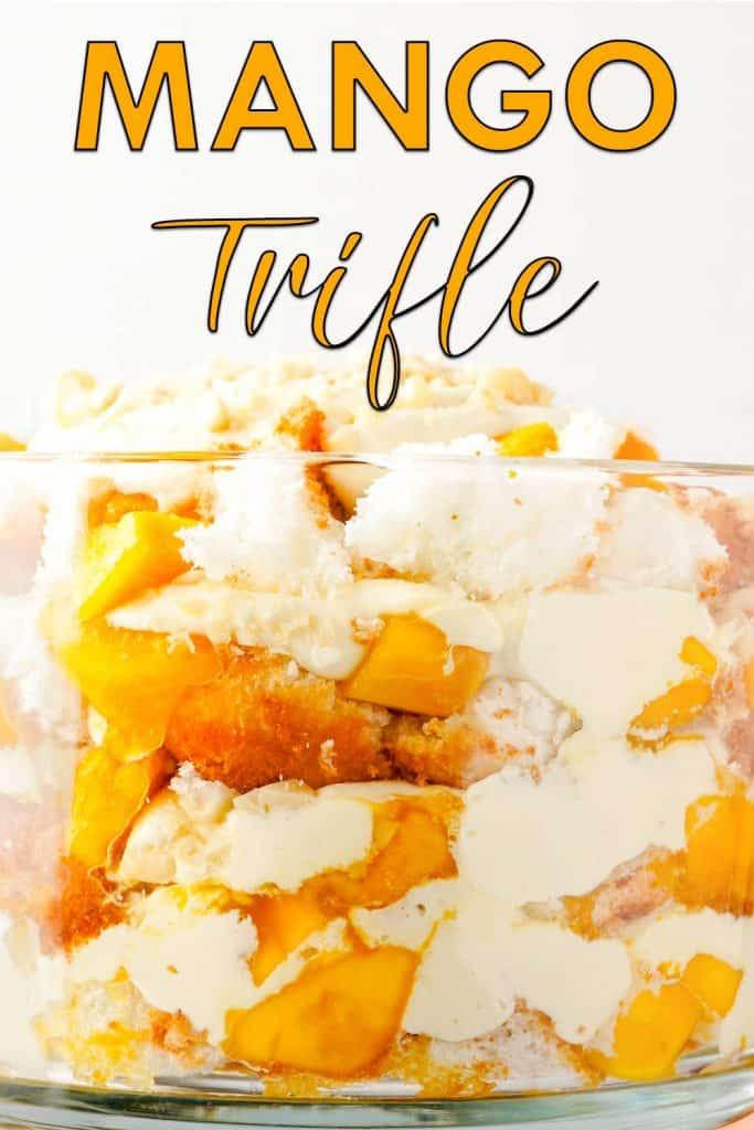 Mangle trifle cake recipe