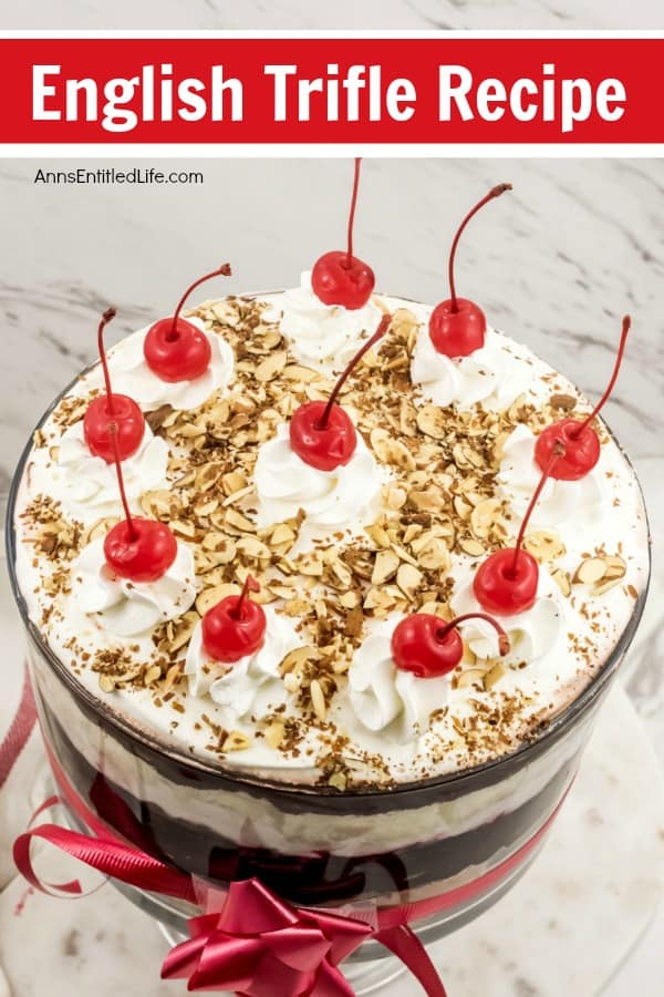 Traditional English Trifle Recipe.