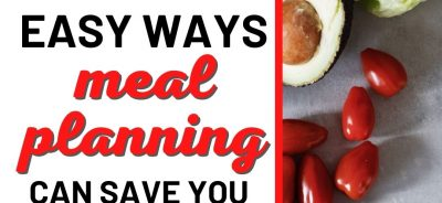 meal planning for a family