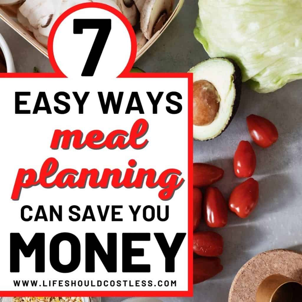best reasons to start family meal planning. lifeshouldcostless.com