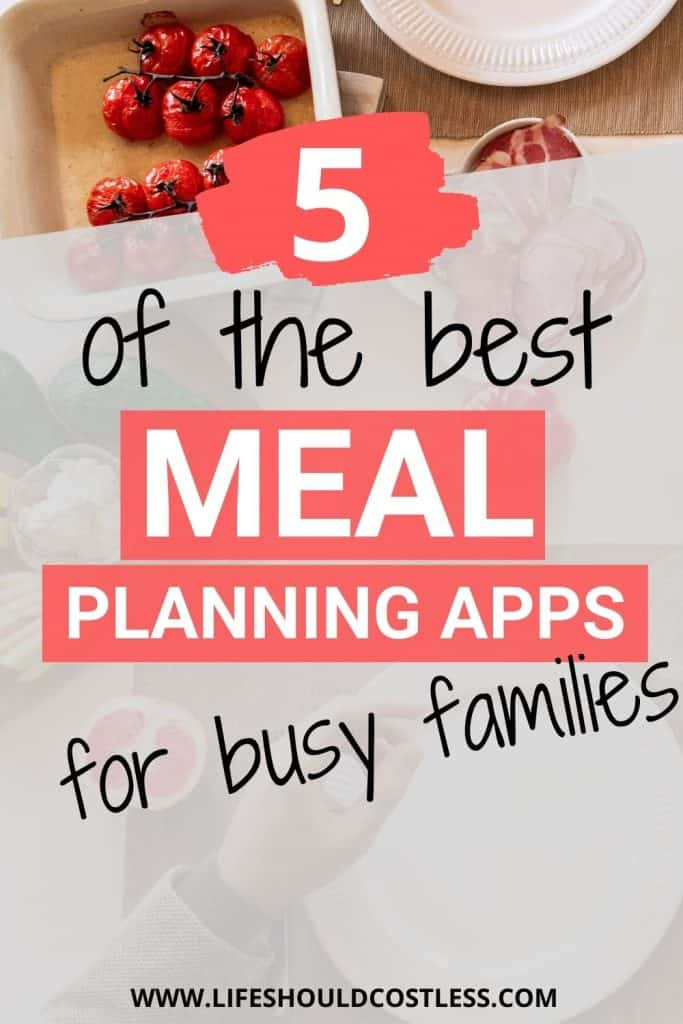 What app should I use for meal planning?