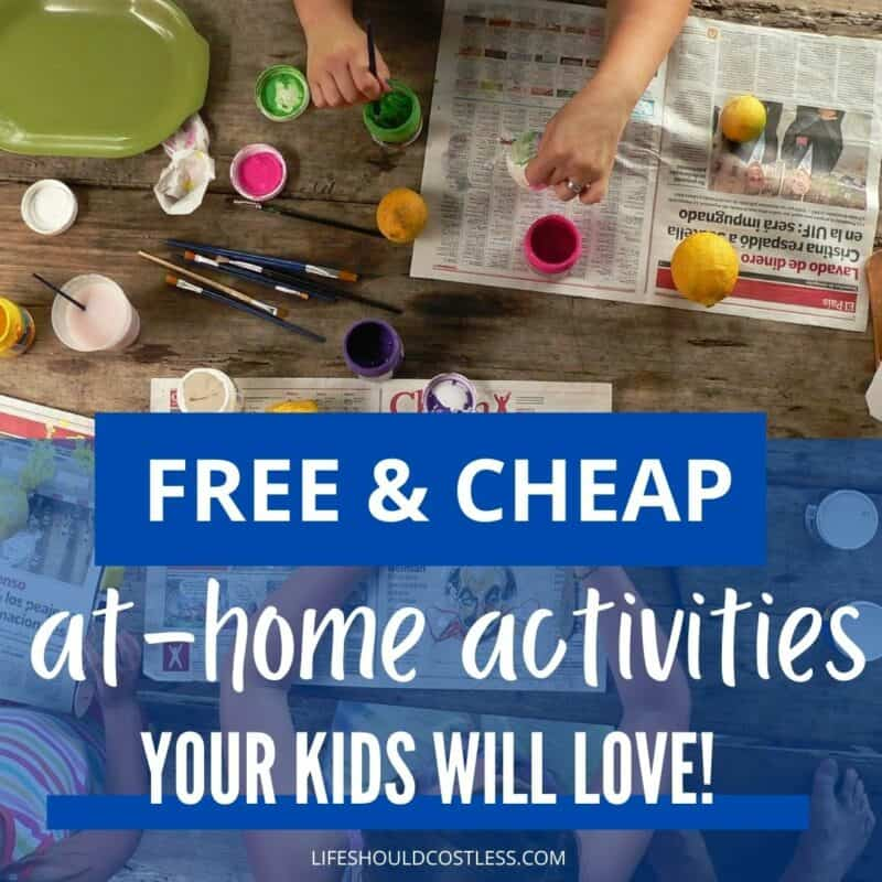 cardboard and interesting activities for kids at home indoors and outdoors.